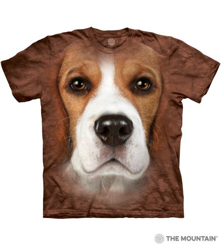 Beagle Face T-shirt | The Mountain®